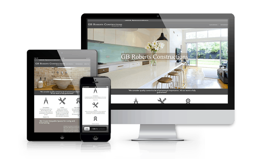 Forte Web Design and GB Roberts Constructions